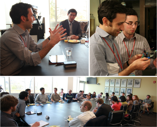 Scott Belsky speaks at the Design and Entrepreneurship Round Table, hosted by CUxD